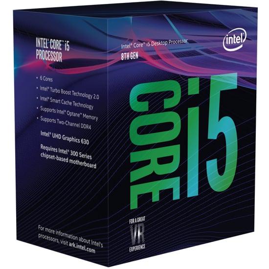 Intel P4D-I58500-SR3XE  CM8068403362607 Coffee Lake-S 6C Core i5-8500 3.0G 9M 8GT/s DMI