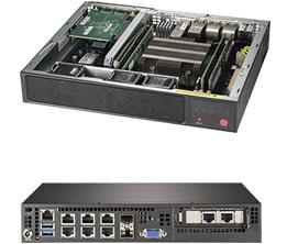 Supermicro Embedded SYS-E300-9D-8CN8TP - miniserver or 1U rackmountable - IoT